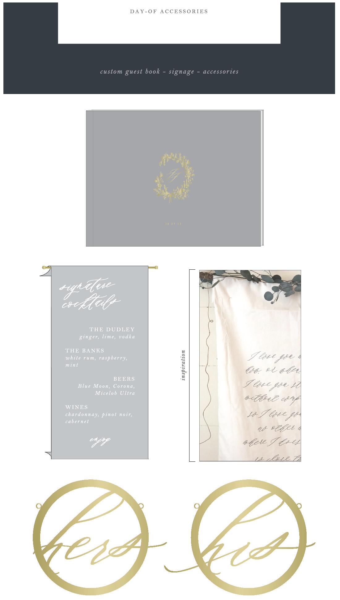 custom wedding stationery by Hope Johnson