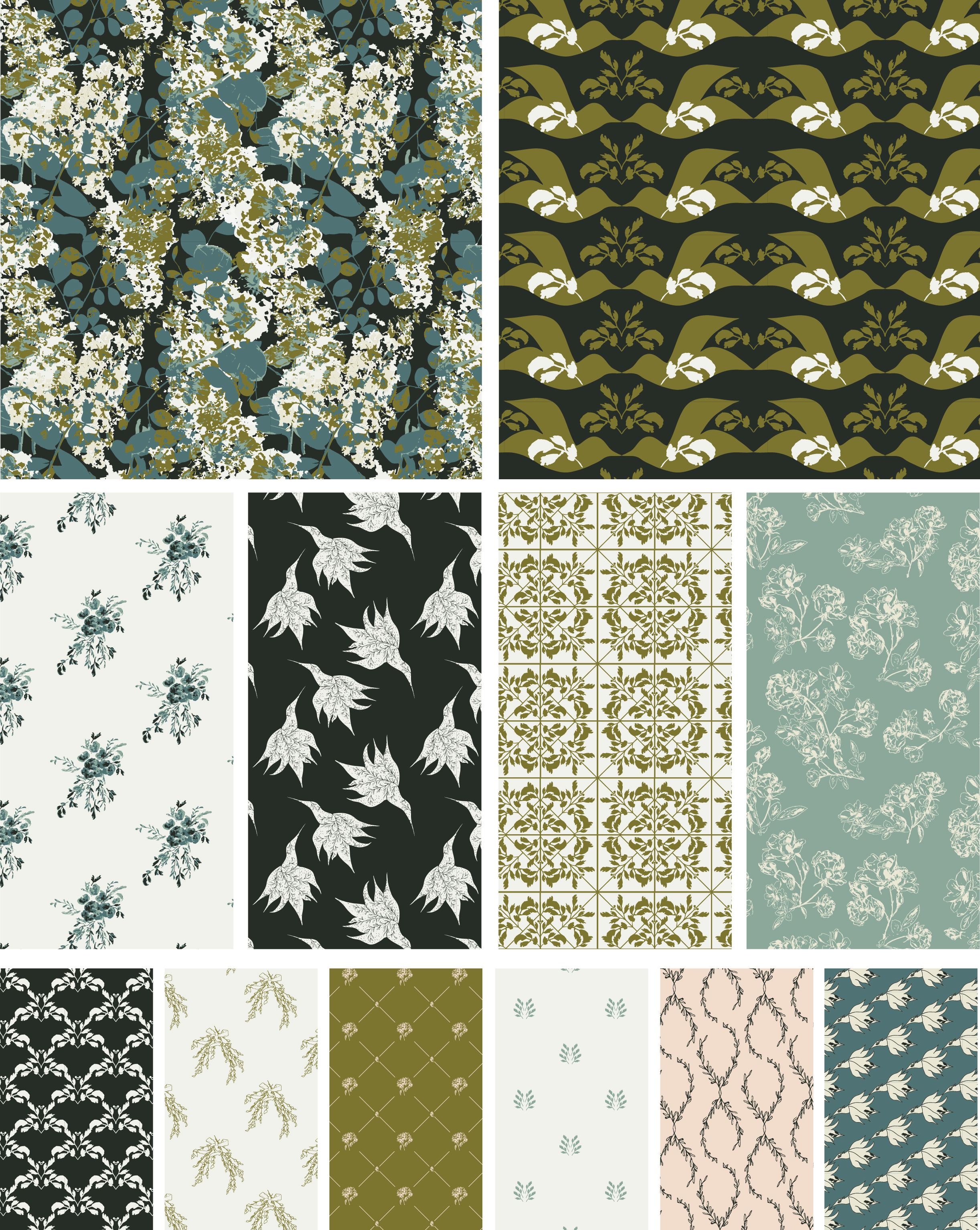 The Heritage Collection | surface pattern design by HOPE johnson
