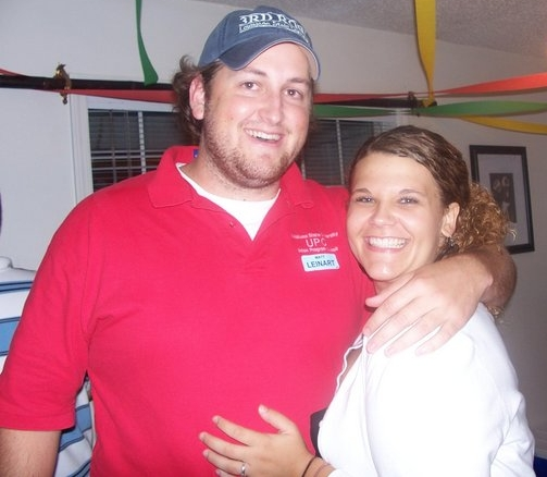 Jay Ducote and Caroline Payne in 2006