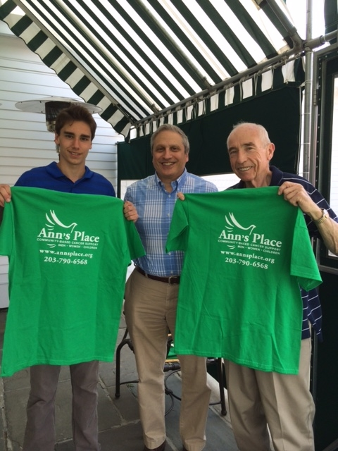 Robert McCarthy (L), Anthony Zeolla (center), Robert's Grandfather (R)