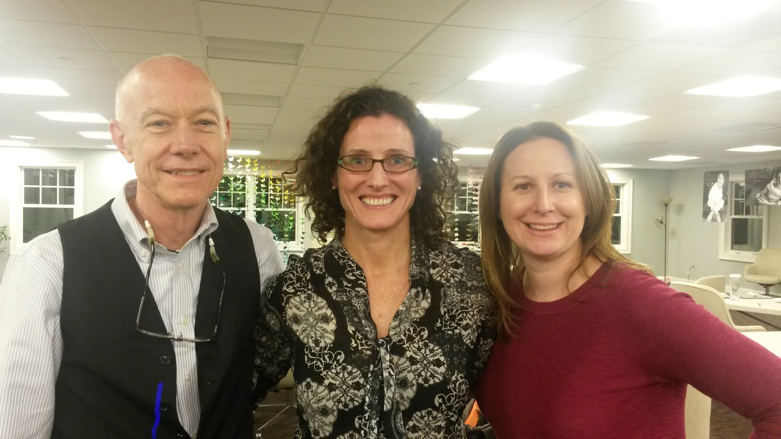 Kevin Berrill MSW,LCSW - Ann's Place, Christine Brennan - Cancer & Careers, Amy DePaolo LCSW OSW-C
