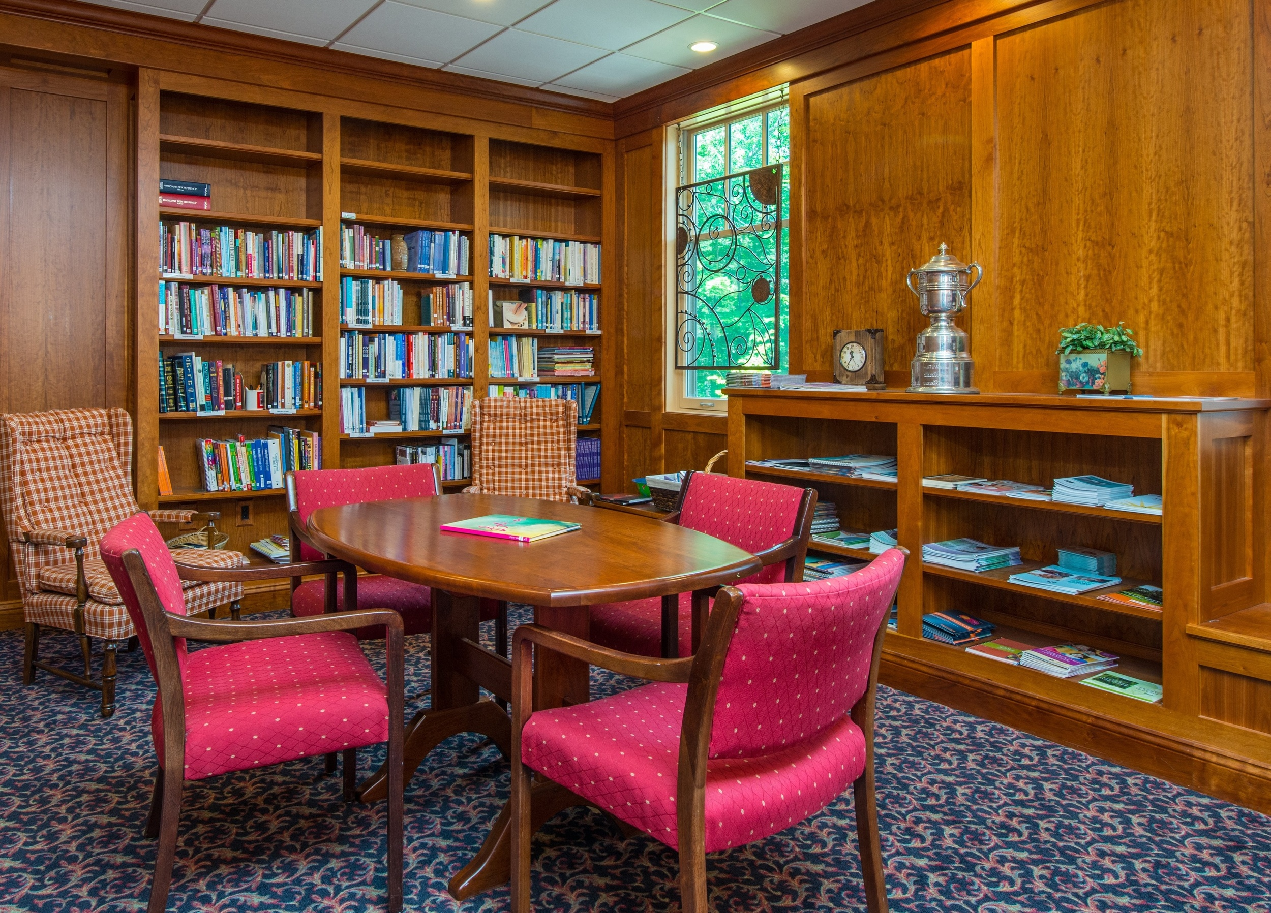 The Robert Santore library is a source of information and inspiration.