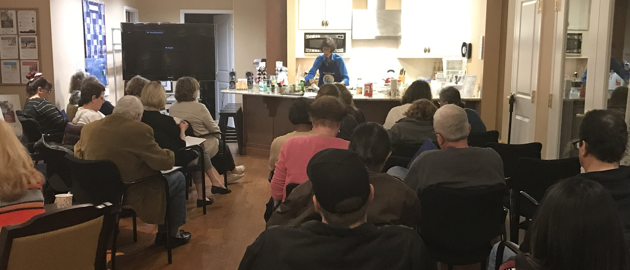 Ann's Place offers live cooking demonstrations in Cooper's Kitchen.