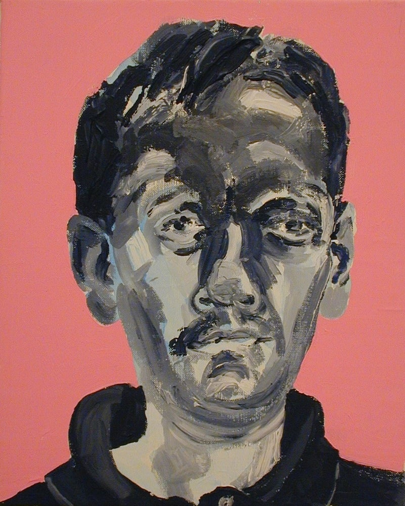 Série Auto-Retratos Acrílico sobre Tela 41 x 33 cm 2001/2004