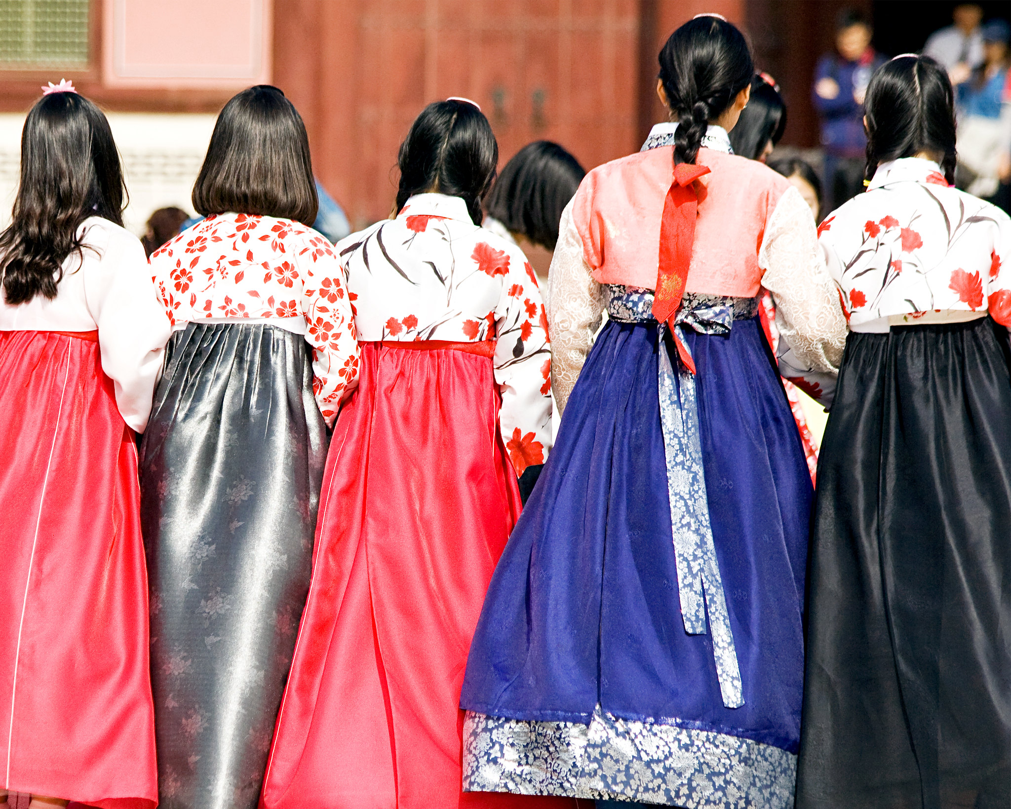 """   Hanbok Party, Seoul   "" by     Dimitry B.         is licensed under    CC BY 2.0"