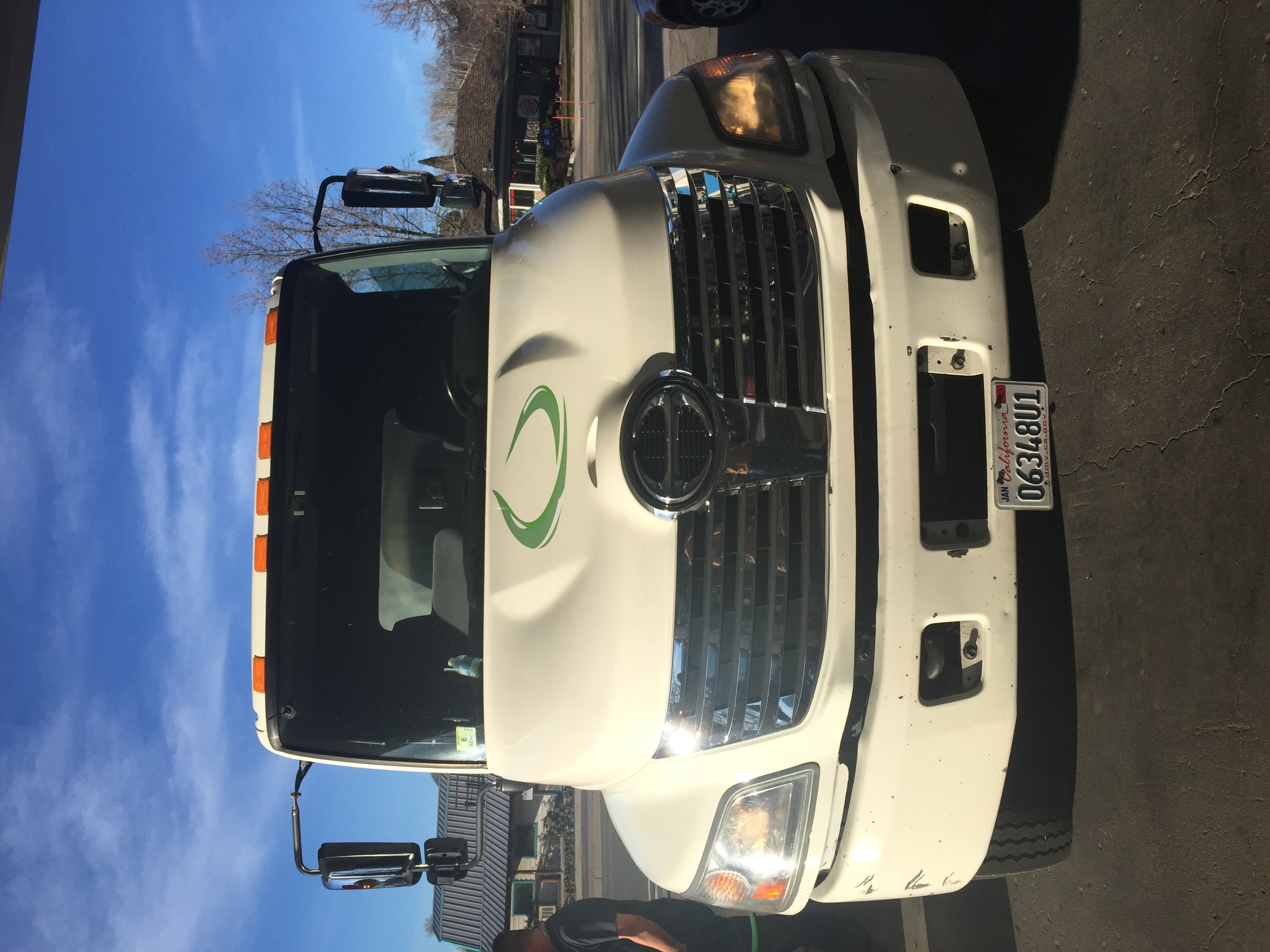 smart alternative fuels collection truck