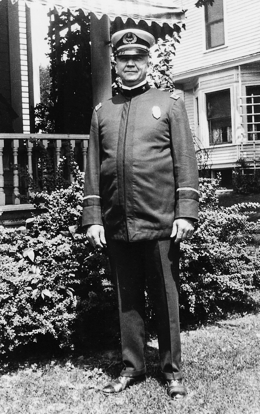 Fulton Police Chief Edward J. Dyer (1914 - 1942)
