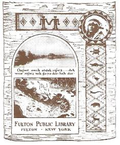 The Fulton Public Library's bookplate, found inside every book in the library's collection, has a rich history.
