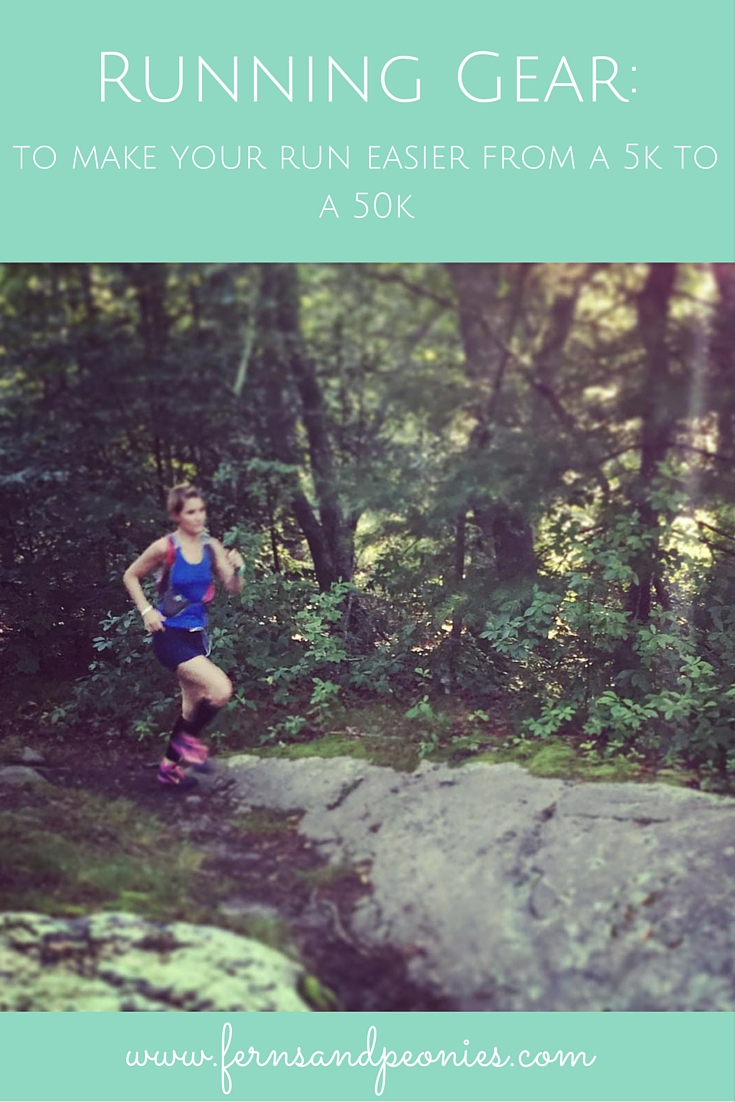 Wondering what running gear to buy to train for your first race? Read my latest blog to help you figure it out. www.fernsandpeonies.com
