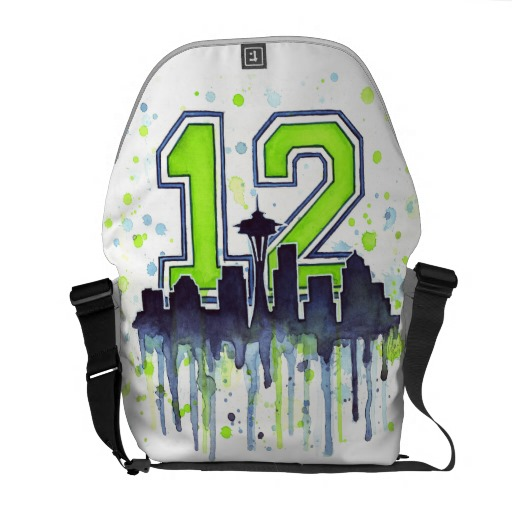 Seattle 12th Man Bag