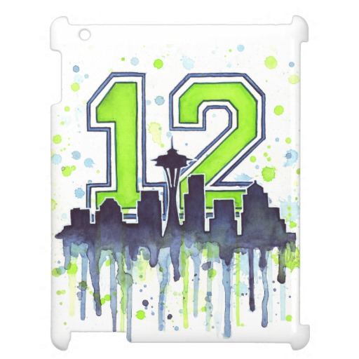 12th Man iPad Case