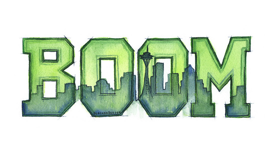 Legion of Boom Art, Seattle