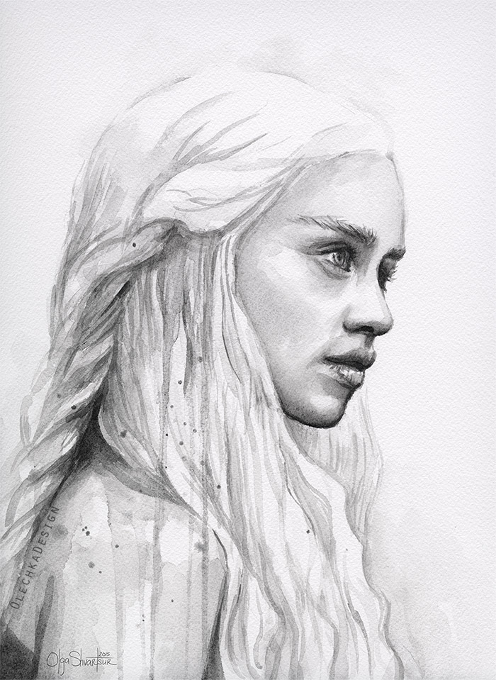 Daenerys-watercolor-portrait-game-of-thrones-olechkadesign.jpg
