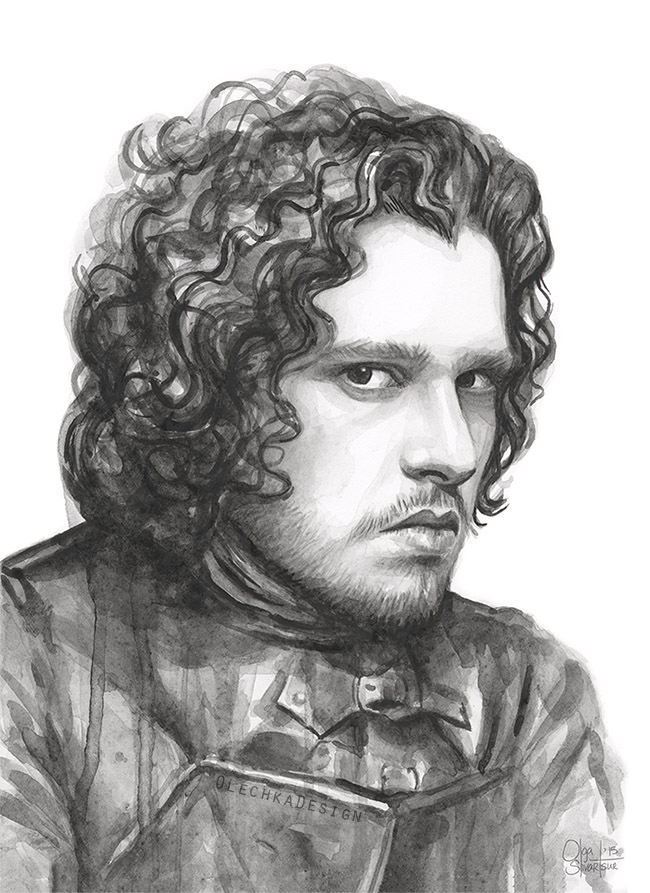 Jon-Snow-Game-of-Thrones-Portrait-Watercolor-OlechkaDesign.jpg