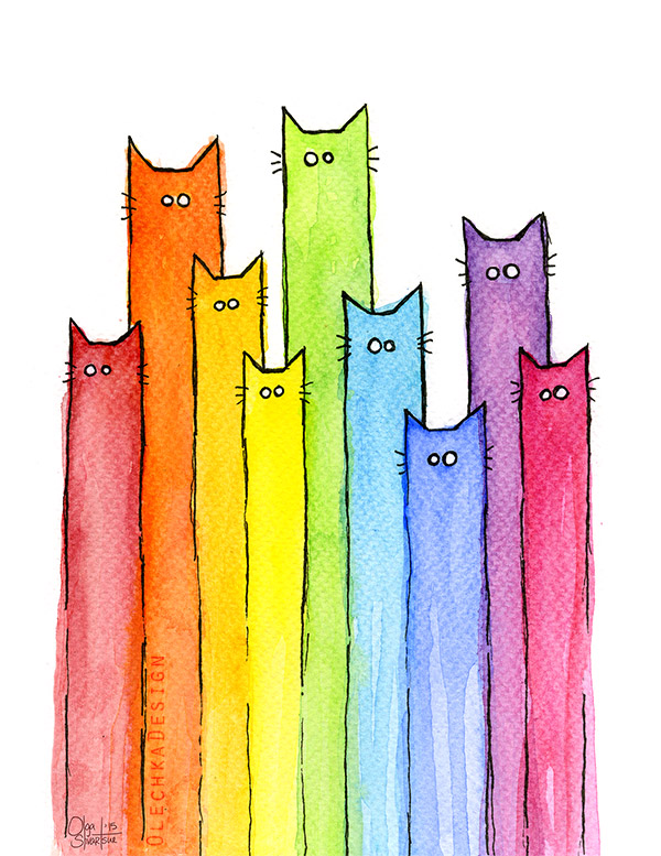 Rainbow-of-Cats_watercolor-olechkadesign.jpg