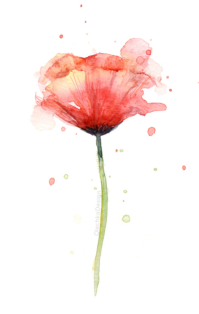 Red-Poppy-Watercolor-atmospheric-painting-olechkadesign.jpg