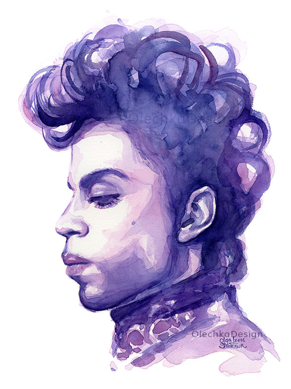 prince purple rain art