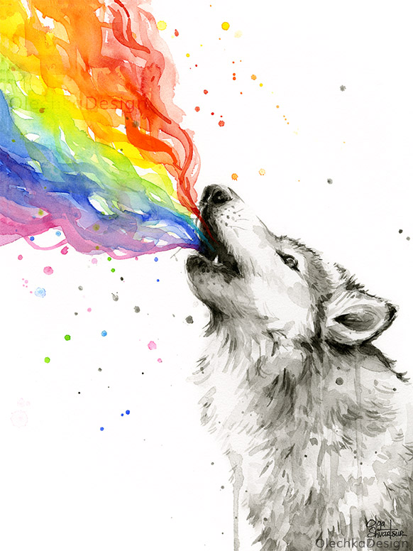 Wolf-Rainbow-watercolor-howling-animal-olechkaDesign.jpg