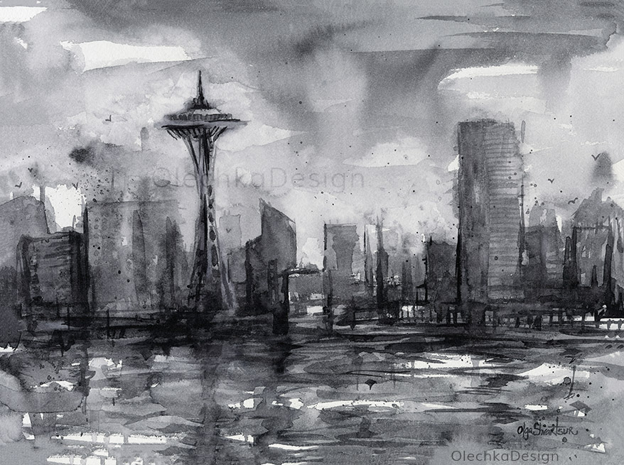 Seattle-skyline-painting-watercolor-olechkadesign.jpg