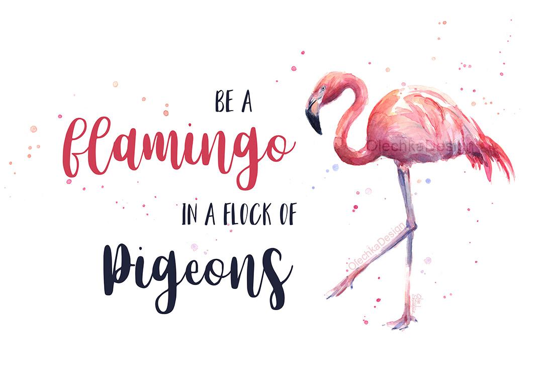 be-a-flamingo-in-a-flock-of-pigeons-art-print.jpg