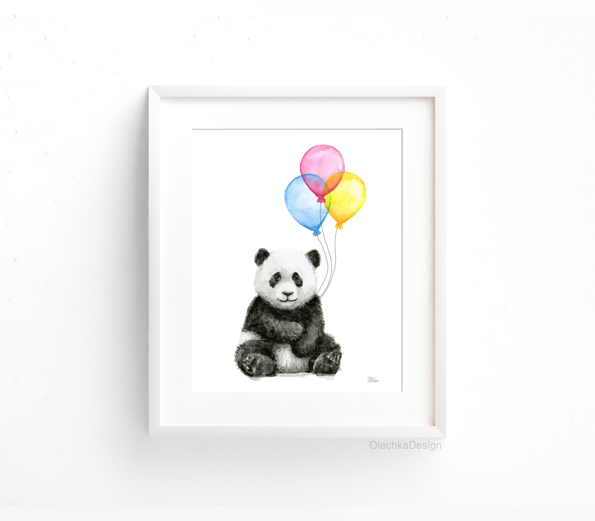 panda-watercolor-balloons-baby-animals-nursery-print