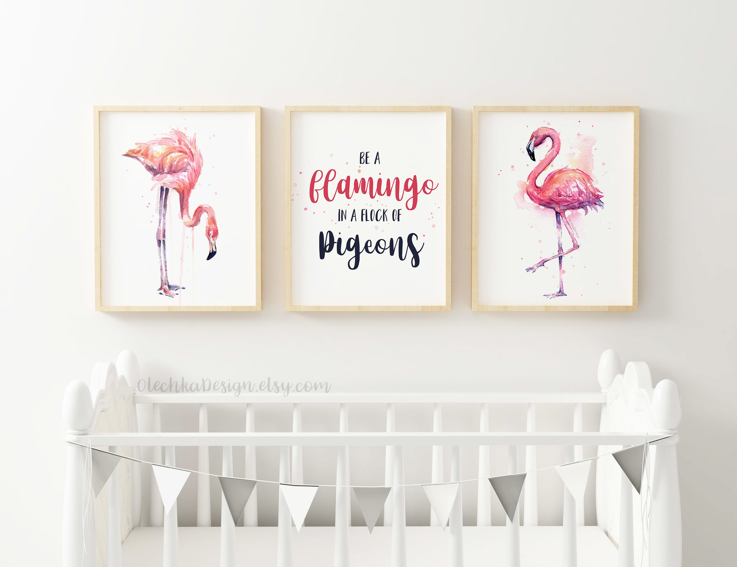 flamingo-wall-art-flamingo-prints-be-a-flamingo.jpg