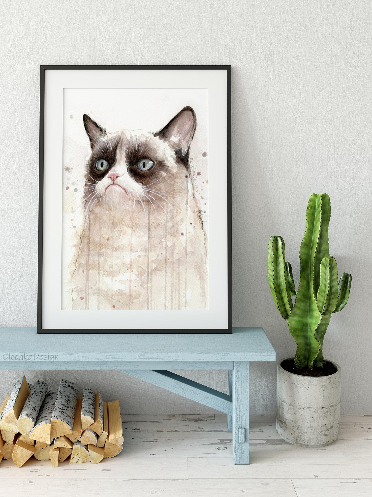 cat meme art