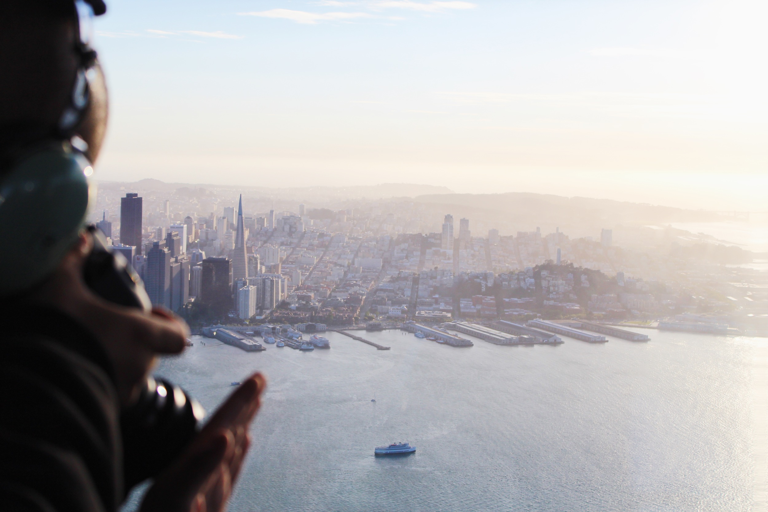 Christian Becerra (@throughthetinylens) taking photos of San Francisco by Catherine Alyce