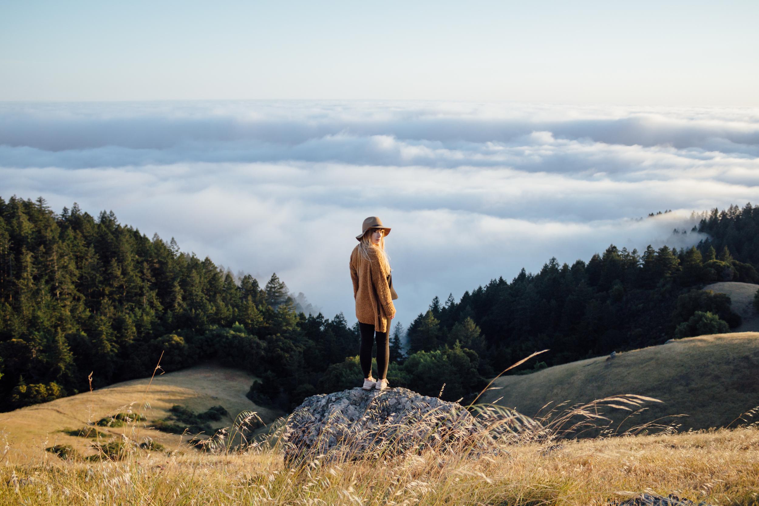 Kate Davison (@katedavison) in Mount Tam by Catherine Alyce