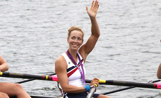 AP London Olympics Rowing Women