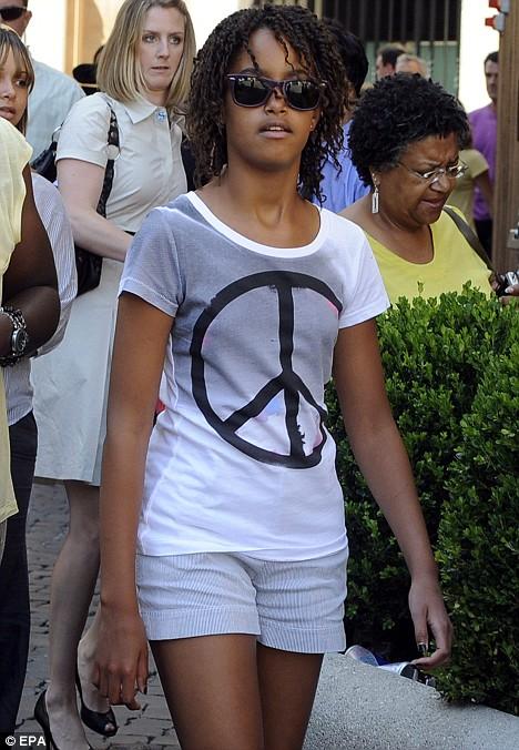 Malia Obama, July, 2009