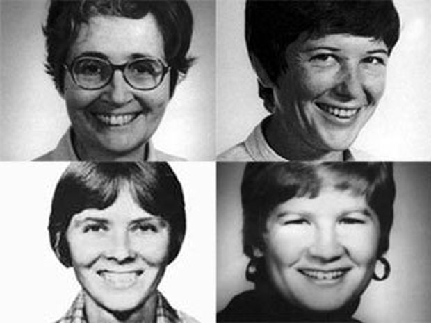 Three American Catholic nuns along with a lay missionary were beaten, raped and shot to death by an El Salvador government death squad early in the country's more-than-decade-long civil war.