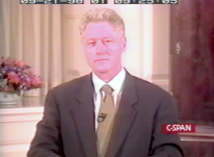President Bill Clinton, testifying before a Grand Jury, September 21, 1998