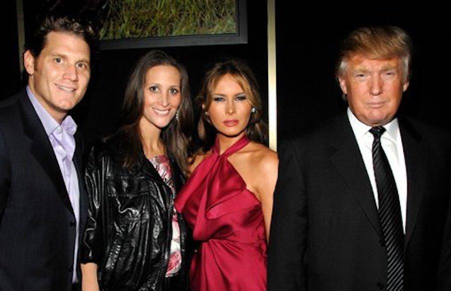 L-R: David Wolkoff, Stephanie Winston Wolkoff, Melania Trump, Donald Trump