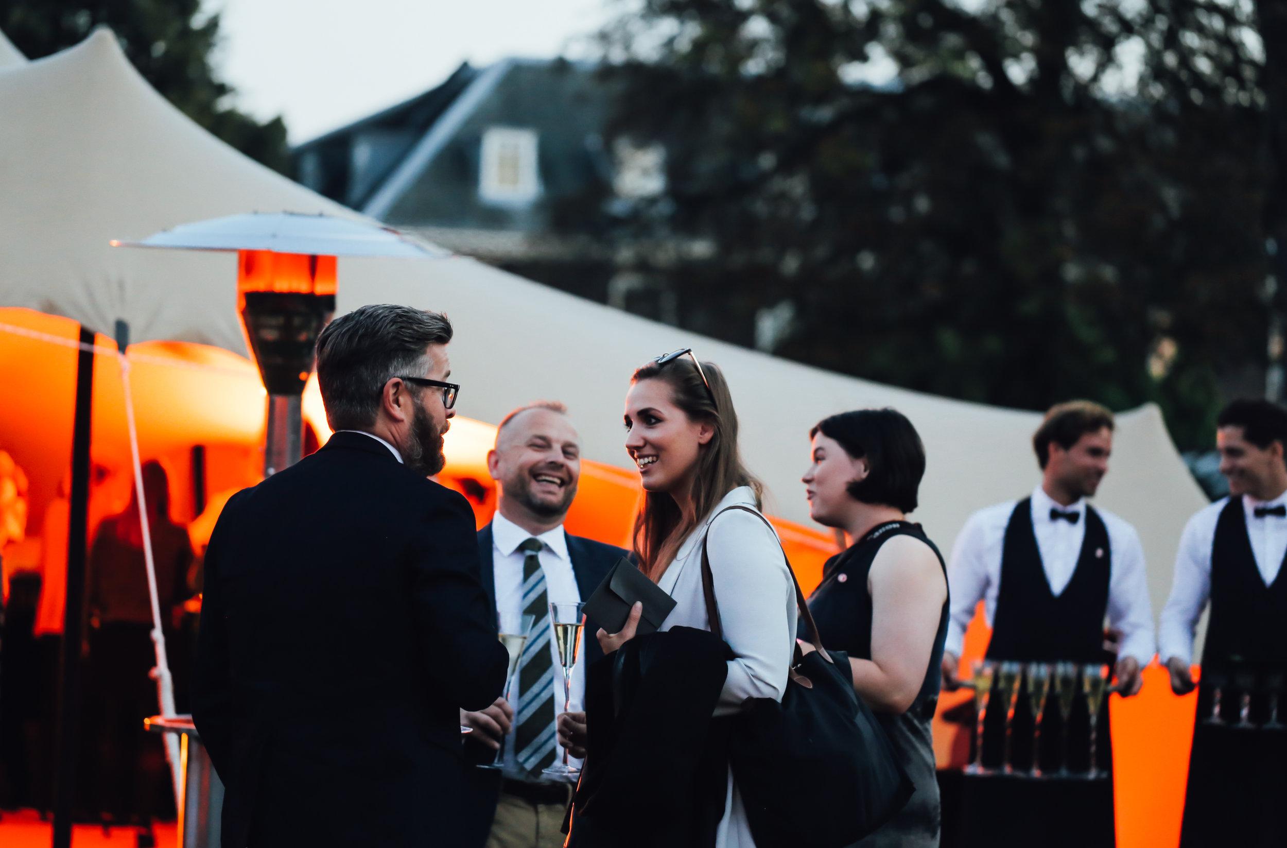 Guests at Kensington Palace