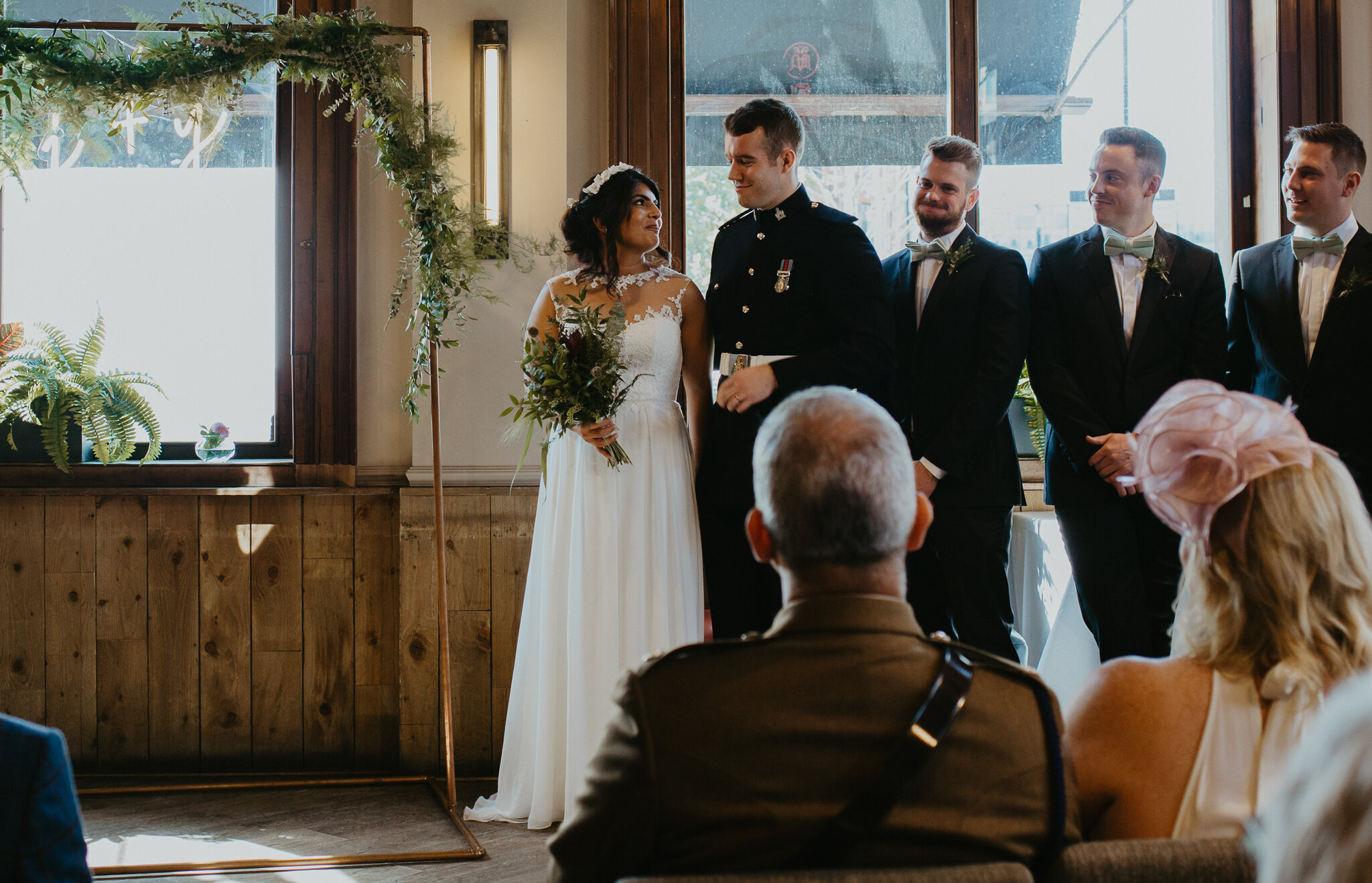 Eco-Friendly Wedding at St Bart's Brewery