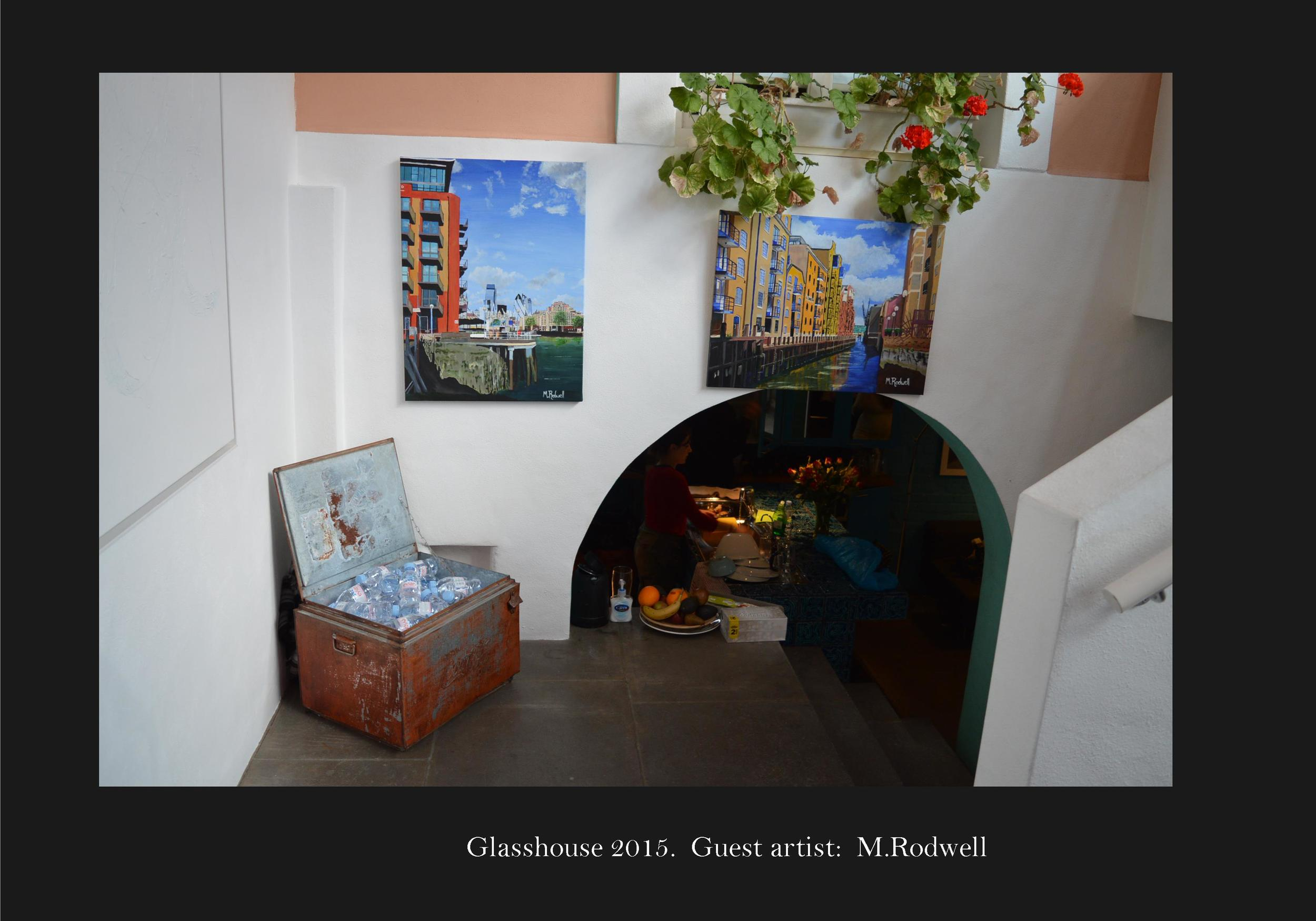 Glasshouse exhbition featuring M.Rodwell