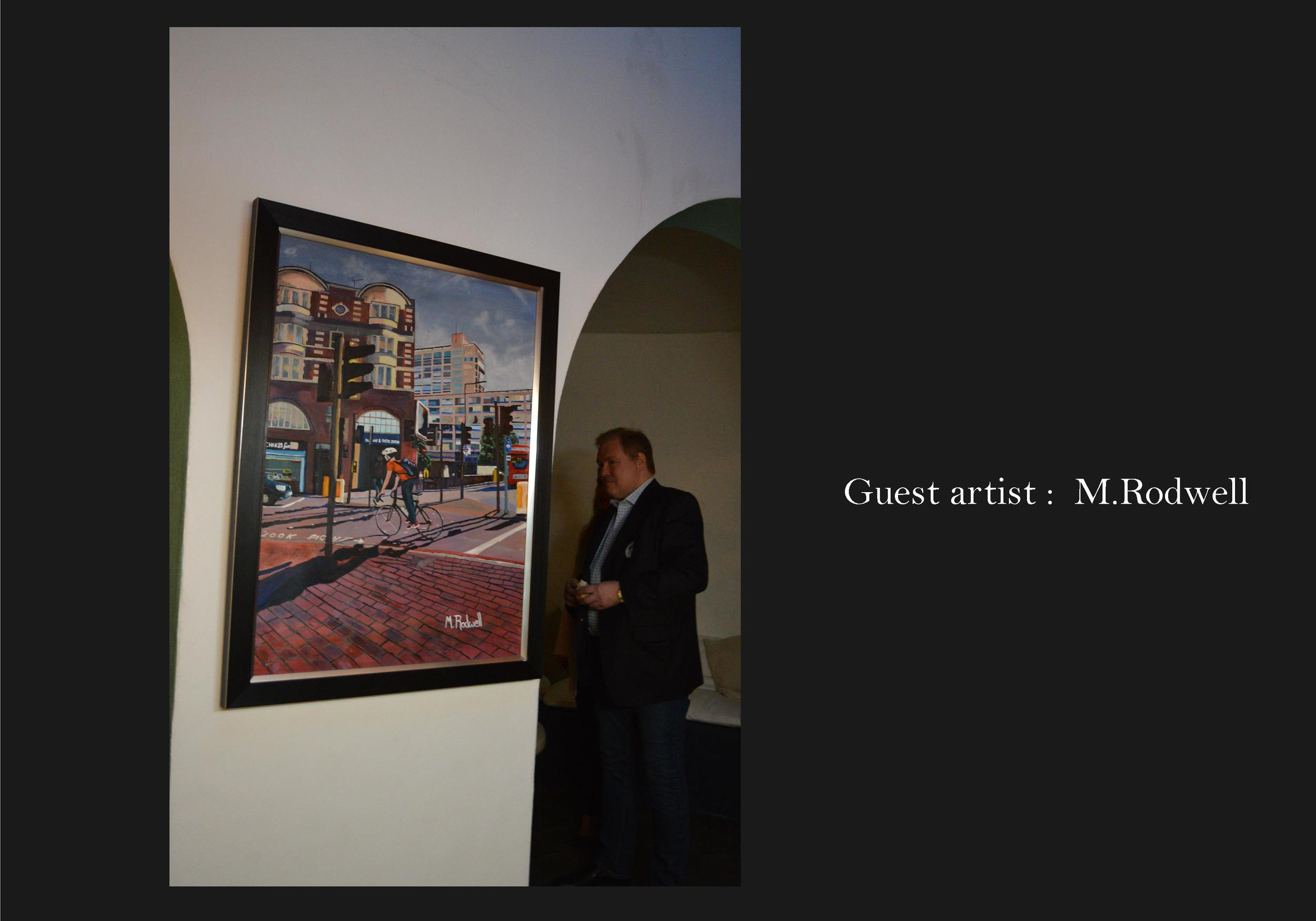 Glasshouse | Elephant and Castle Painting Exhibited | by M.Rodwell