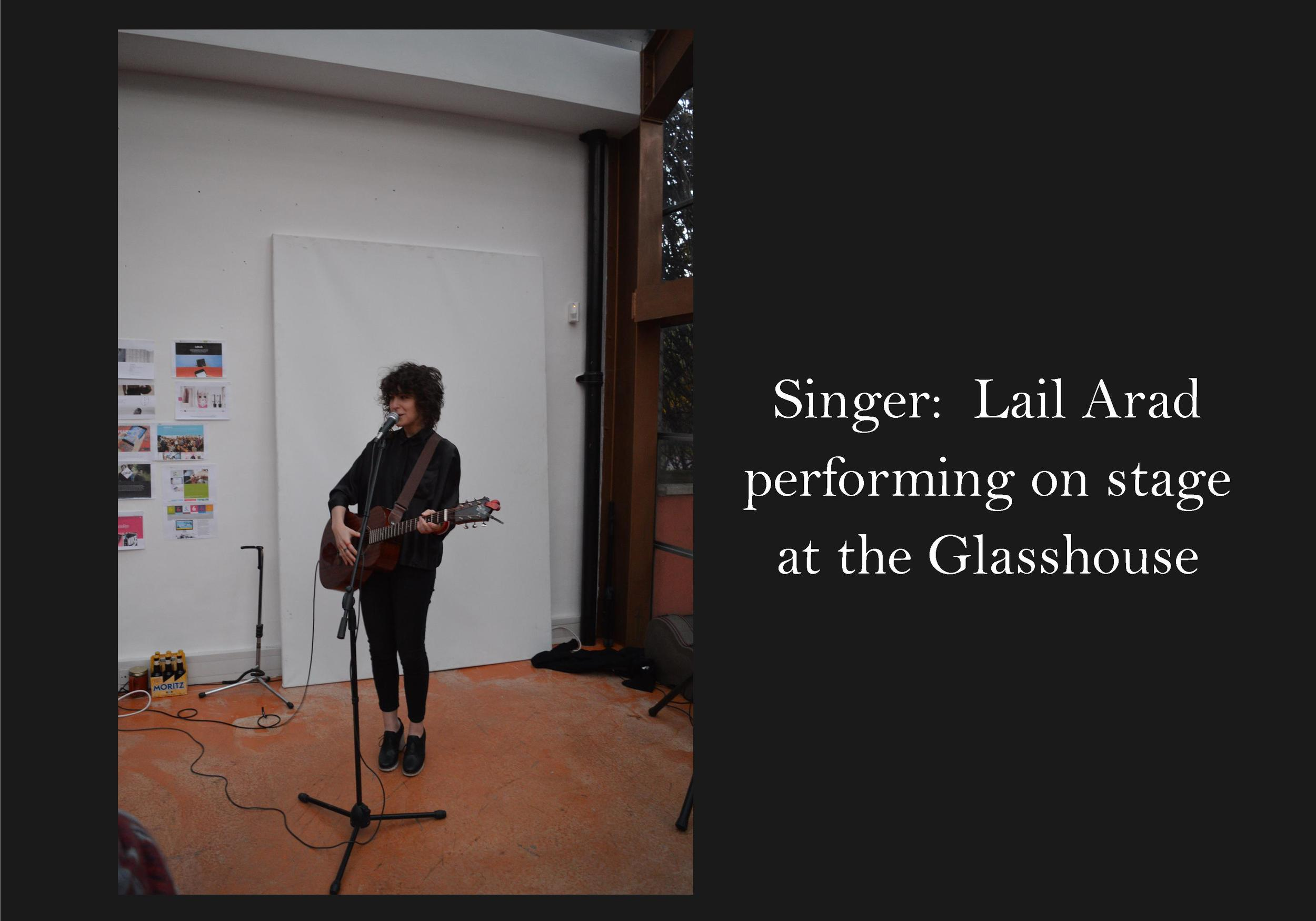 Lail Arad | performing Glasshouse Bermondsey