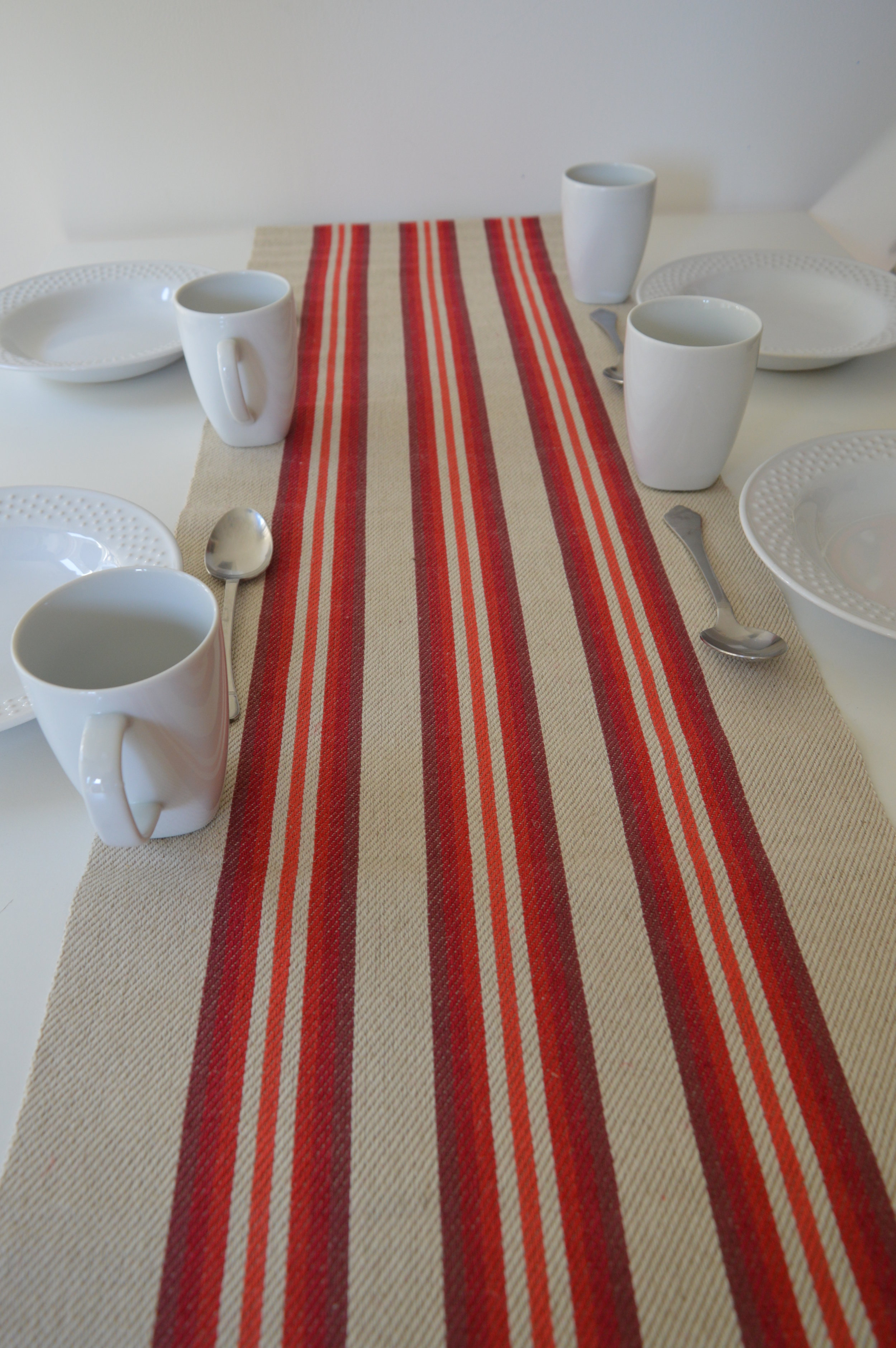 Treva table runner - Making time with the family special.