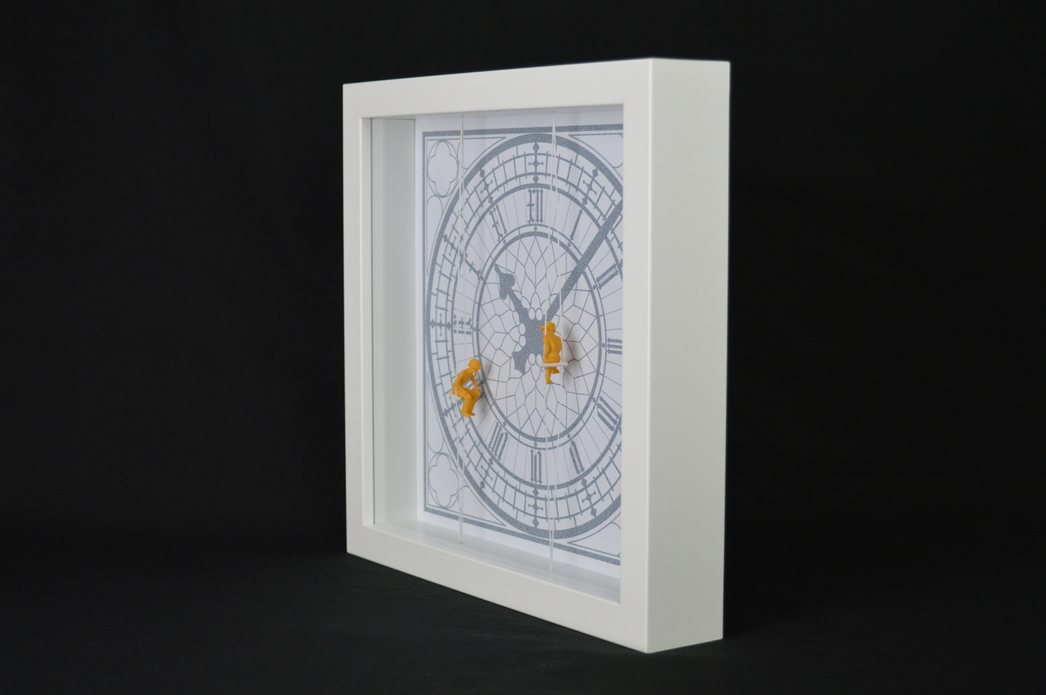3D wall art, featuring Big Ben under construction by 'Allisdesign'.  Made in England