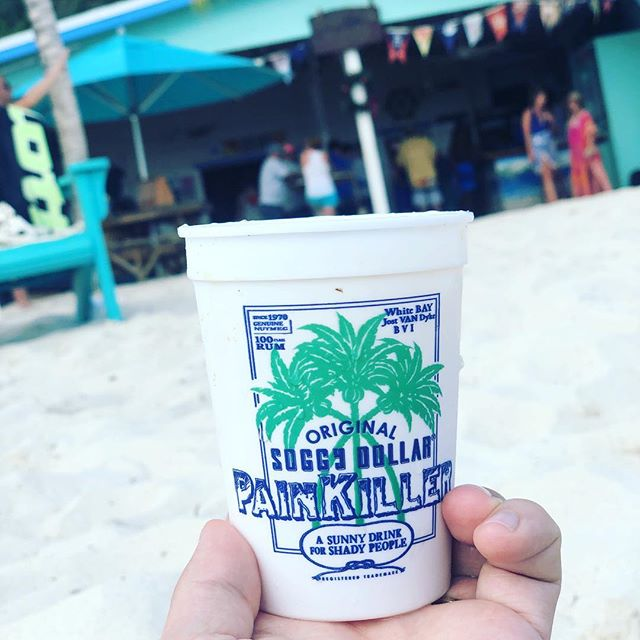 """""""A sunny drink for shady people"""" 🍹 #bvi @britishvirginis"""