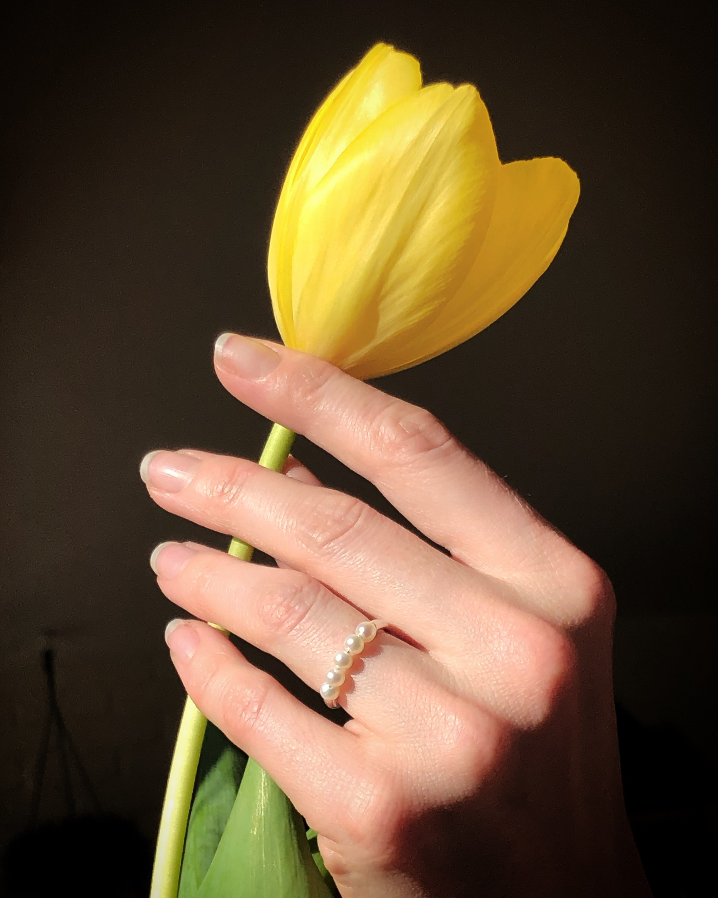 Wednesday Jewellery Pearl Ring
