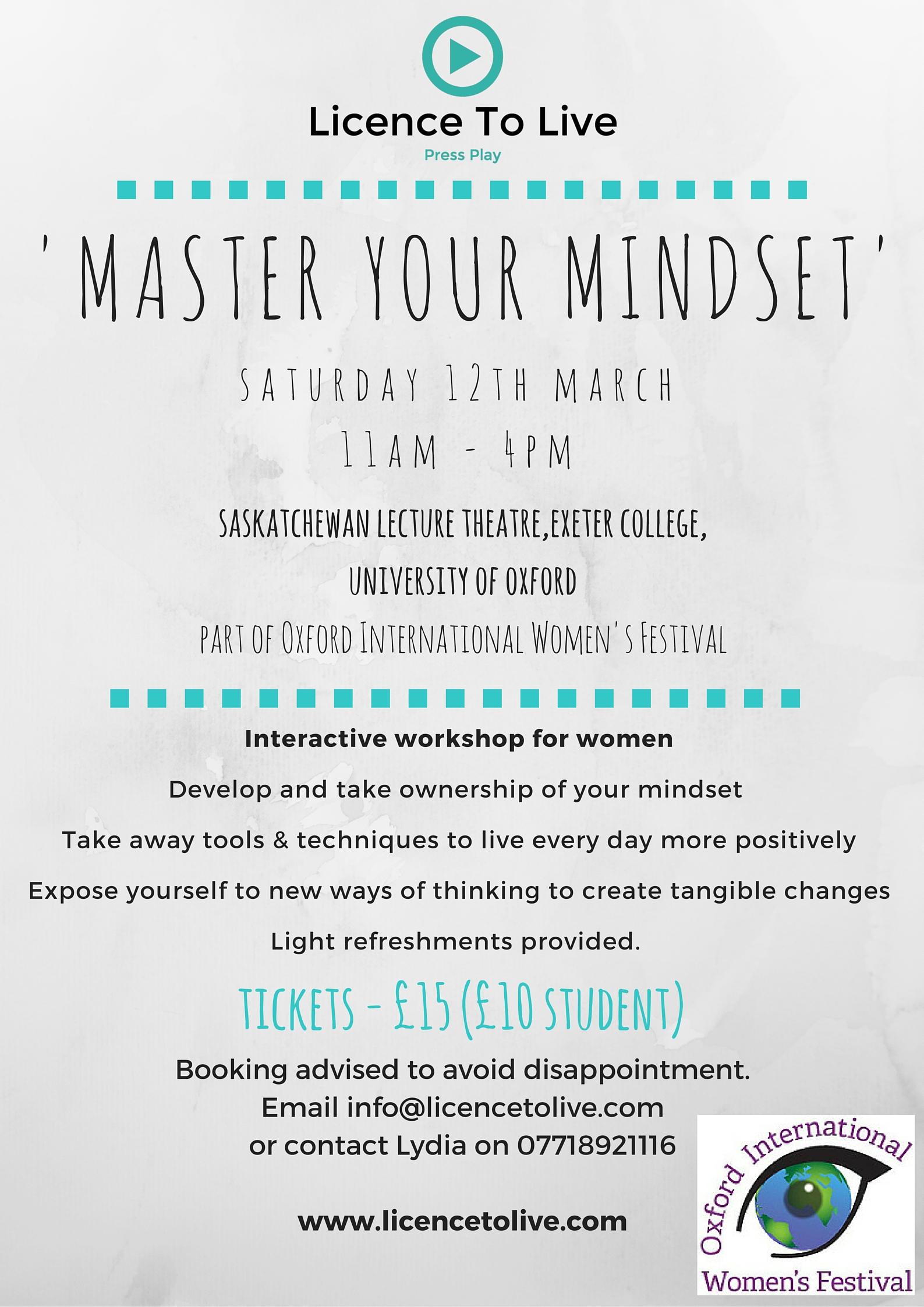 'Master Your Mindset' with Lydia & Jen