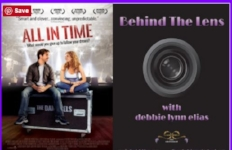 11/07/16  - Interview with All in Time filmmakers Chris Fetchko and Marina Yarnell Donahue on Behind The Lens with Debbie Lynn Elias.