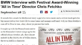 09/28/16 -  BWW Interview with Festival Award-Winning 'All in Time' Co-Director Chris Fetchko