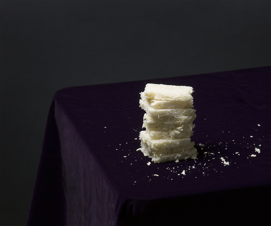 Crustless Bread Tower