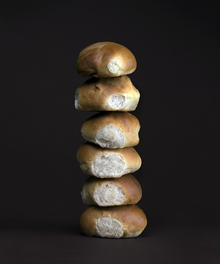 Dinner Roll Tower 3