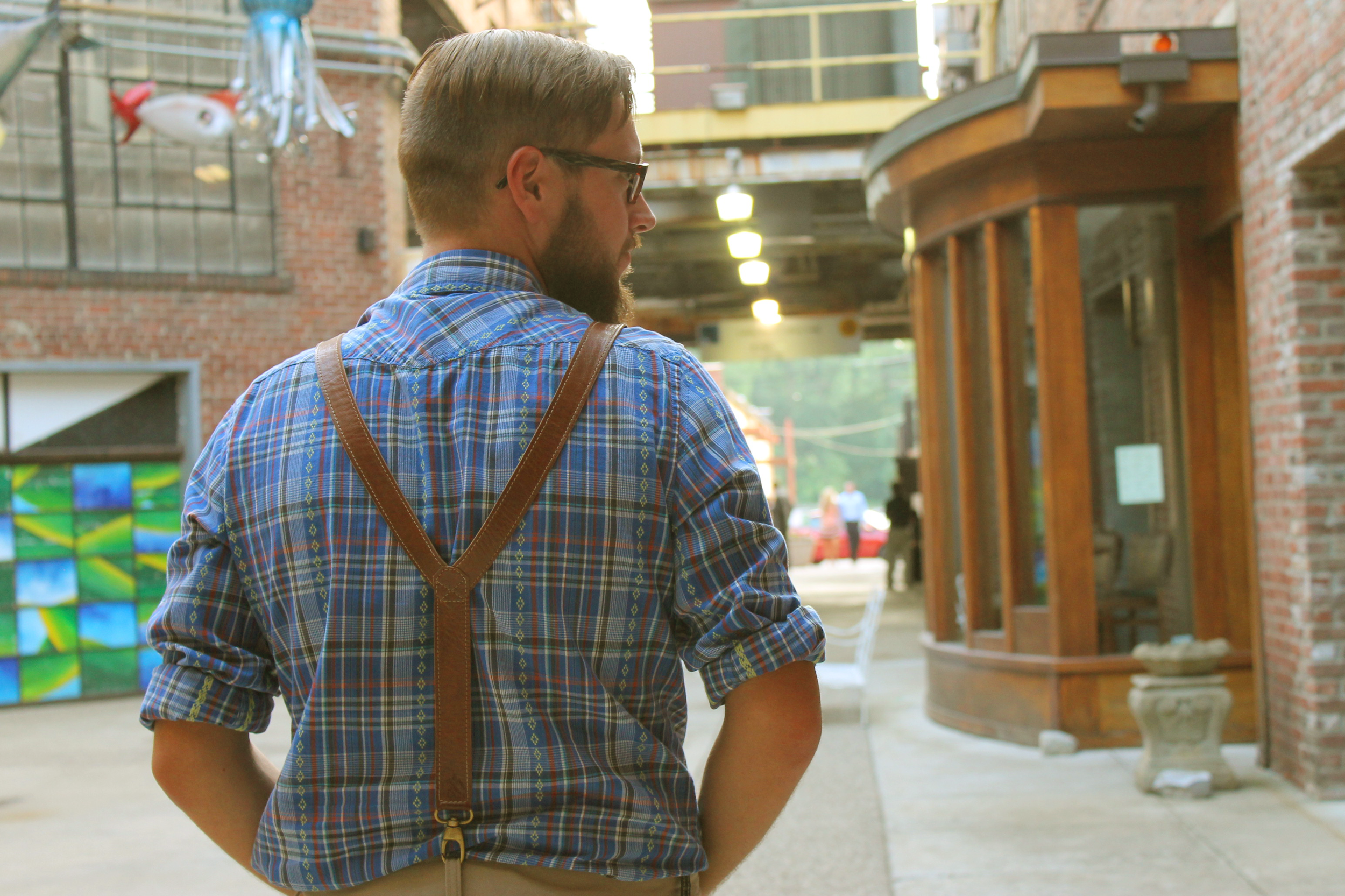 Sahel Suspenders   A modern take on a vintage classic.These aren't your grandpa's suspenders.
