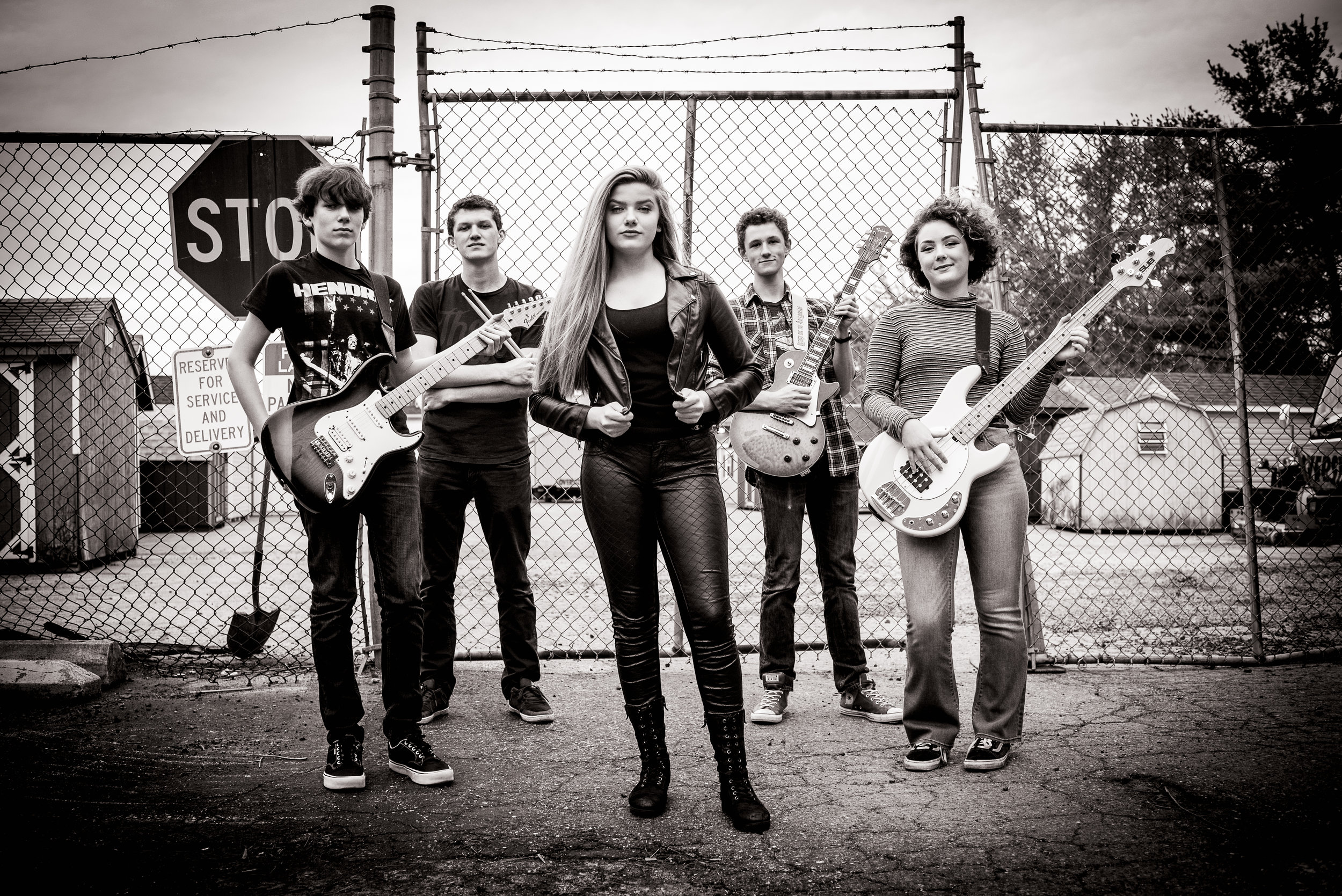 Left to Right: Hayden, Owen, Julia, Dylan, Zoe